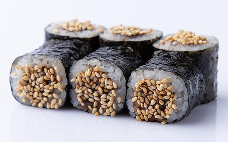 Макі рол з вугрем – Bamboo