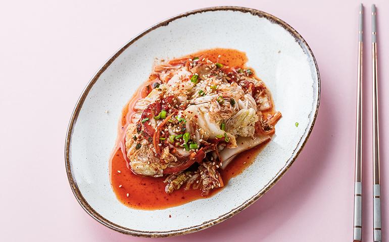 Салат Кімчі з пекінською капустою та гострим перцем   – Bamboo
