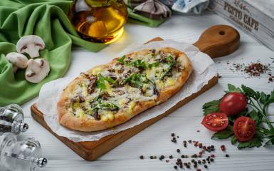 Solo піца з телятиною