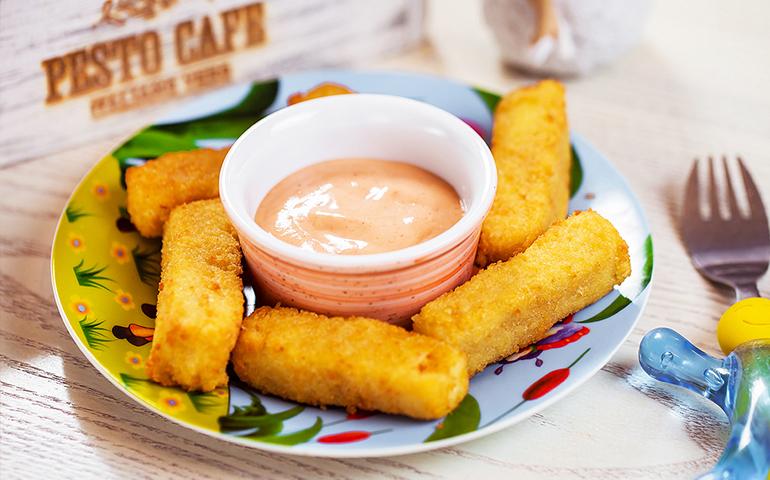 Сирні палички Піноккіо – Pesto Cafe