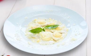 Равиоли с сыром Рикотта и шпинатом