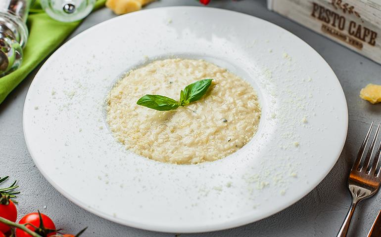 Різотто чотири сири – Pesto Cafe