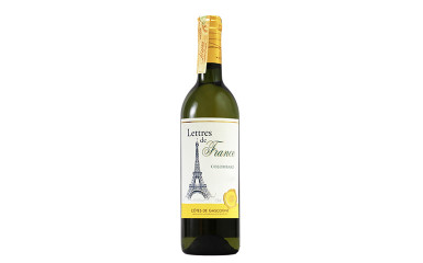 Colombard Chardonnay Lettres de France             Франция, белое, сухое