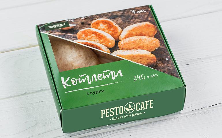 Котлети з курки – Pesto Cafe