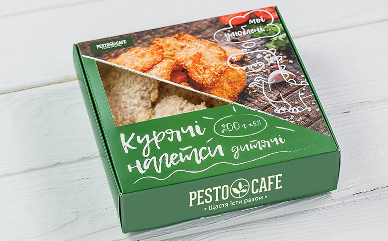 Дитячі курячі нагетси – Pesto Cafe