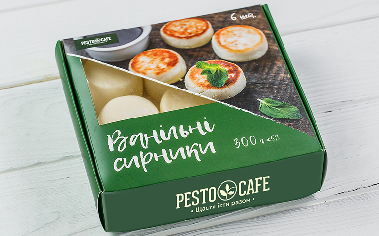 Ванільні сирники – Pesto Cafe