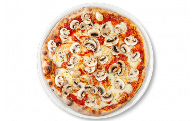 Дитяча піца Прошуто е фунгі
