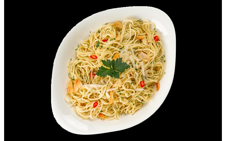 Паста- основа АГЛІО Е ОЛІО ХL ( велика порція ) рекомендовано зі спагеті        – Vapiano