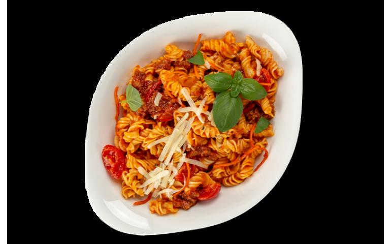 М`ясна паста БОЛОНЬЄЗЕ L ( середня порція) рекомендовано з фузілі – Vapiano