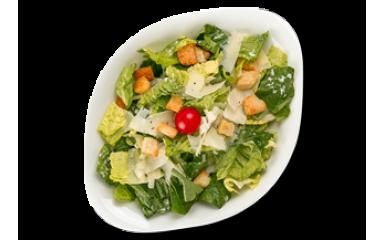 Цезарь с креветками L (средняя порция)