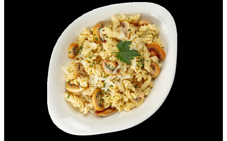 Паста-основа КРЕМА ДІ ФУНГІ L ( середня порція ) рекомендовано з фузілі  – Vapiano