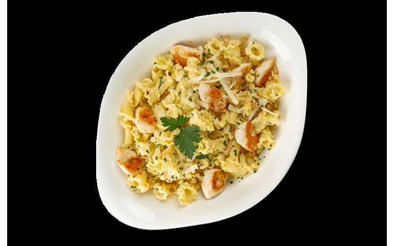 М`ясна паста КРЕМА ДІ ПОЛО L ( середня порція)  рекомендовано з  компанелле  – Vapiano