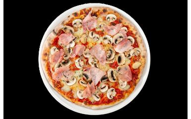 Пицца Прошутто е фунги